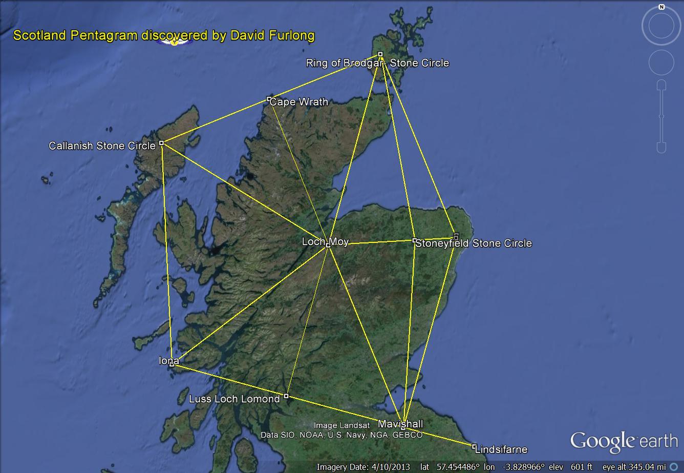 Holy Loch Scotland Map.Sacred Scotland Hidden Landscape Patterns